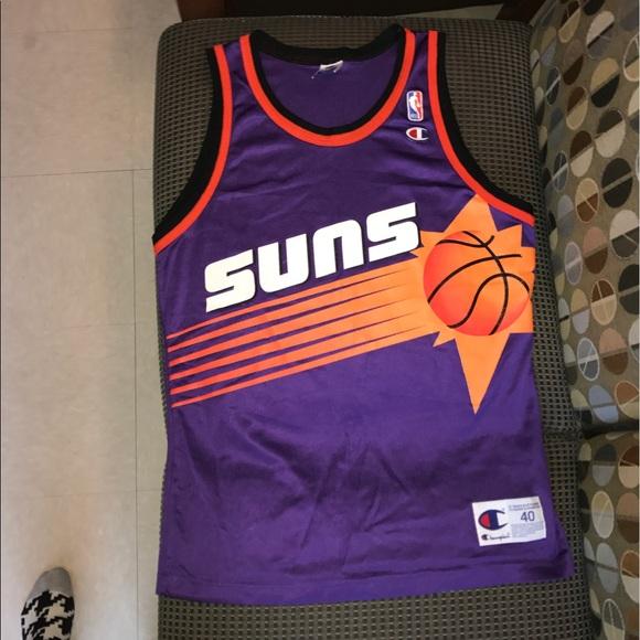 de68f710e62 Champion Other - Phoenix Suns Champion Blank Vintage Jersey 40